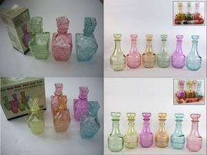 Colored Glass Wine Bottles, 250ml, 500ml, 1000ml pictures & photos