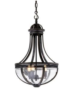 Metal Chandelier with Glass Shade (WHG-8175) pictures & photos
