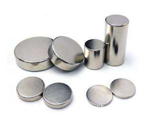 Permanent High Quality Cylinder NdFeB Magnet pictures & photos