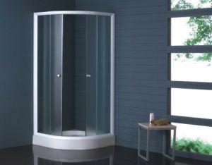90*90cm Corner Simple Shower Enclosure Nishaji Glass Mjy-Jy-01