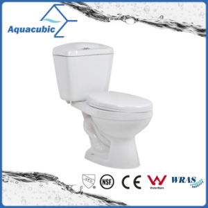 Siphonic Two Piece Dual Flush White Toilet (ACT8221) pictures & photos