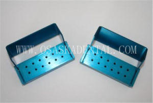 Opening Fg Burs Disinfection Box for Endo Files Sterilization 12 Holes pictures & photos