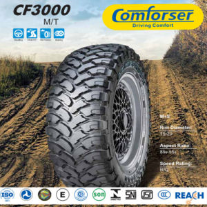 Mud Terrain Cross Country vehicle Tire with Ferocious Face pictures & photos