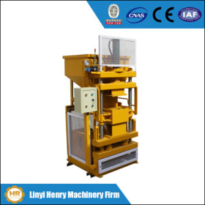 Soil Brick Interlocing Brick Molding Machine Hr1-10 Block Machine pictures & photos