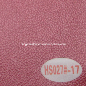 China Manufacturer of PVC Car Leather (HS027#) pictures & photos
