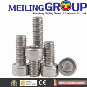 A2-70 Stainless Steel Round Head Bolt Fastener pictures & photos