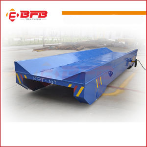 Motorized Steel Coil Rail Vehicle for Transfer Heavy Cargo (KPT-50T) pictures & photos