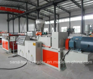 Plastic PVC WPC Crust Celuke Foaming Sheet Extruder Machinery pictures & photos
