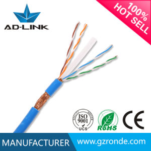 Indoor LAN Copper CCA CAT6 0.56mm SFTP Cable