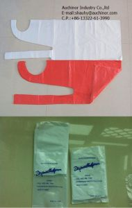 High Quality Disposable HDPE LDPE Thin PE Apron pictures & photos