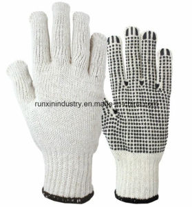 PVC Dotted Gloves 2011 pictures & photos