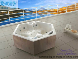 Six Angles Romantic Sexy Hot Tub for SPA (M-3330) pictures & photos