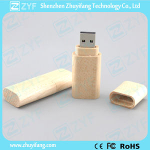 Full Capacity Maple Wood 8GB USB Stick (ZYF1327) pictures & photos
