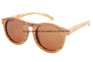 Wooden Sunglasses with CE Polarized Lens (LS3002-C4)