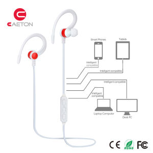 Wireless Ear-Hook Bluetooth Earphones with Stereo Sounds pictures & photos