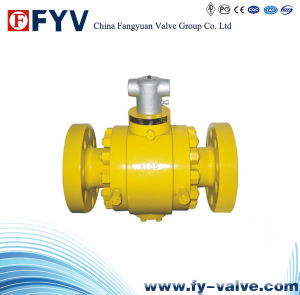 Three Pieces Trunnion Mounted Ball Valve pictures & photos