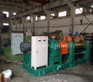 Xk-300, 360, 400, 450, 550, 560, 610 Automatic High Quality Best Safety Guaranteed Two Roll Rubber Mixing Mill pictures & photos