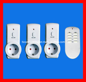 European RF Wireless Remote Control Socket with CE, GS, RoHS pictures & photos