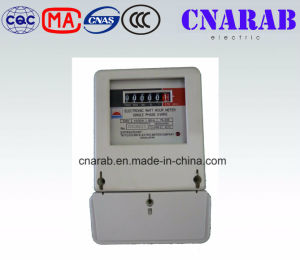 Single Phase Watt Hour Meter Register Display pictures & photos