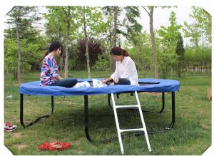 6FT Hunter Round Blue Trampoline Without No Net pictures & photos