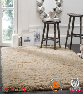 Super Soft Touches Handmade Area Rug Living Room Luxus Plain Shaggy Carpet pictures & photos