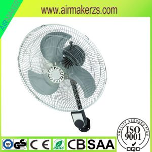 2017 News Plastic Body 16 Inch Wall Mount Oscillating Fan pictures & photos