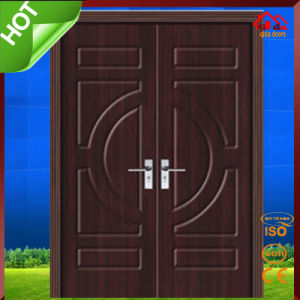 CE Soncap Approved Exterior Wood Wooden Main Door Design