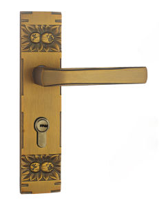 Antique Brass Finished Solid Brass Bathroom Door Locks pictures & photos
