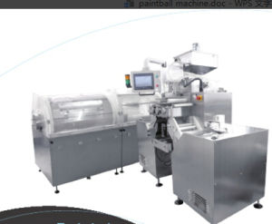Softgel Encapsulation Machine for Paintballs (RYTM-200 Series II)