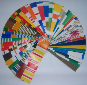 Color Stripe Tarpaulin Fabric