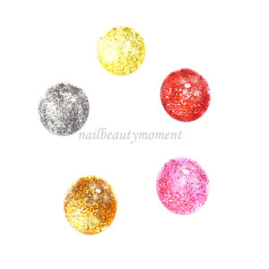 Crystal Nail Art Round Shape Color Chart Manicure Products (NT36) pictures & photos