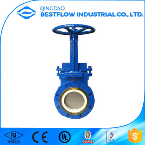 Supplying Pn10/16/25 Ductile Iron DIN 3352 Rising Stem Gate Valve with Price pictures & photos
