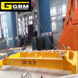 20FT and 40FT Semi-Automatic Container Spreader Mobile Type Container Spreader Fixedspreader Beam pictures & photos