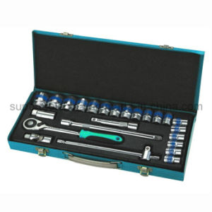"High Quality 25PC 1/2"" Dr. Cr-V Socket Wrench Set pictures & photos"