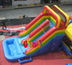 Small Indoor Kids Inflatable Slide on Hot Sale (CHSL270) pictures & photos