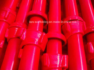 Factory Price Cuplock Scaffolding Standard with Spigot Painted / Powder Coated / HDG pictures & photos
