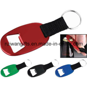 Customized Blank Oval Aluminum Bottle Opener with Keyring (ABO009) pictures & photos