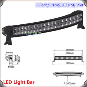 4X4 Offroad Curved LED Light Bar (LED12-120W) pictures & photos