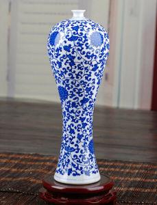 Jingdezhen Ceramics Vase Antique Blue and White Porcelain Decoration Home Decoration