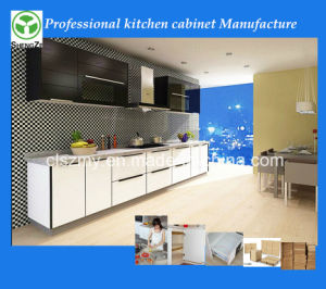 Competitive Price Factory Directly High Gloss Lacquer Kitchen Cabinet Doors pictures & photos