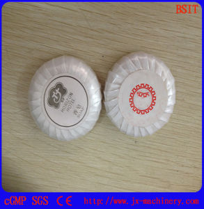 Round Body Soap Bar Pleating Wrapping Packing Machine pictures & photos