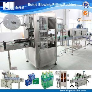 Automatic PVC Shrink Sleeve Bottle Labeling Machine pictures & photos
