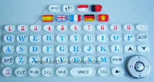 Silicone Rubber Epoxy and Print Keypad for Electronics pictures & photos