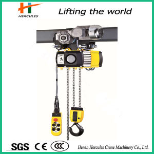 Hc Type 16 Ton Electric Chain Hoist with Electric Trolley pictures & photos