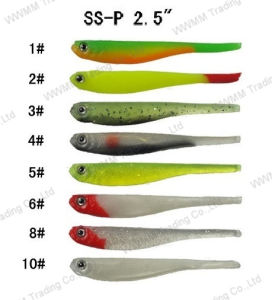 china hand made lifelike fishing lure soft bait (ssp2.5) - china, Soft Baits