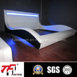 2016 Newest Design LED PU Bed J-38 pictures & photos