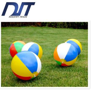 30cm Eco PVC Inflatable Beach Ball with Full Colors Printing pictures & photos