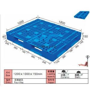 Cross-Base Plastic Pallet Dw-1210b1 pictures & photos