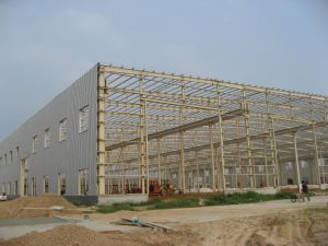 Prefabricated Large Span Light Steel Structure Seed Warehouse pictures & photos
