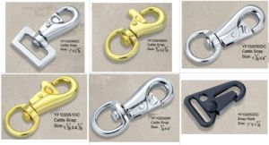 Popular Plating Cattle Snap Hook pictures & photos